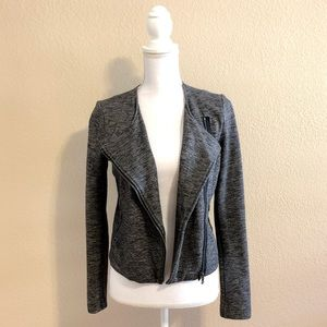 A|X Armani Exchange | Marled Biker Jacket